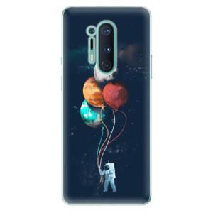 Silikonové pouzdro iSaprio - Balloons 02 na mobil OnePlus 8 Pro