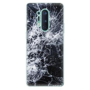Silikonové pouzdro iSaprio - Cracked na mobil OnePlus 8 Pro