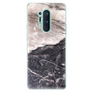 Silikonové pouzdro iSaprio - BW Marble na mobil OnePlus 8 Pro