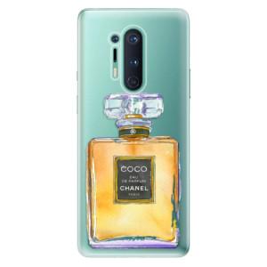 Silikonové pouzdro iSaprio - Chanel Gold na mobil OnePlus 8 Pro