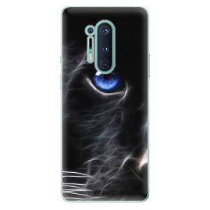 Silikonové pouzdro iSaprio - Black Puma na mobil OnePlus 8 Pro