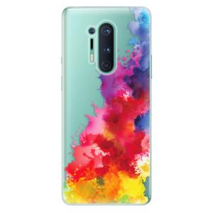 Silikonové pouzdro iSaprio - Color Splash 01 na mobil OnePlus 8 Pro