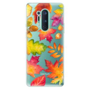 Silikonové pouzdro iSaprio - Autumn Leaves 01 na mobil OnePlus 8 Pro
