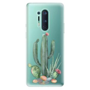 Silikonové pouzdro iSaprio - Cacti 02 na mobil OnePlus 8 Pro