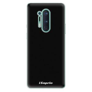Silikonové pouzdro iSaprio - 4Pure - černé na mobil OnePlus 8 Pro