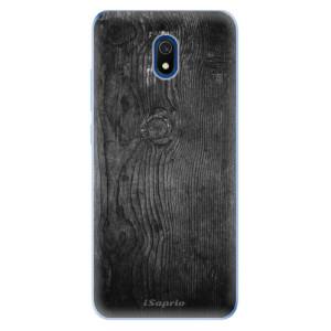 Odolné silikonové pouzdro iSaprio - Black Wood 13 na mobil Xiaomi Redmi 8A