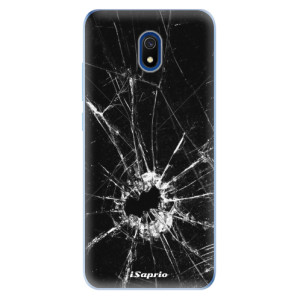 Odolné silikonové pouzdro iSaprio - Broken Glass 10 na mobil Xiaomi Redmi 8A