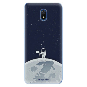 Odolné silikonové pouzdro iSaprio - On The Moon 10 na mobil Xiaomi Redmi 8A