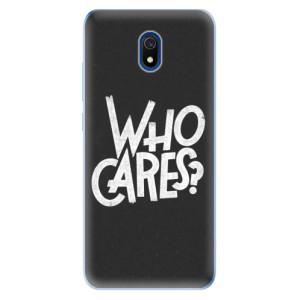 Odolné silikonové pouzdro iSaprio - Who Cares na mobil Xiaomi Redmi 8A