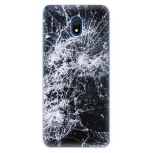 Odolné silikonové pouzdro iSaprio - Cracked na mobil Xiaomi Redmi 8A