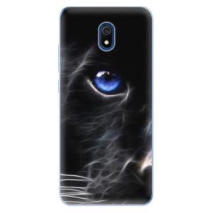 Odolné silikonové pouzdro iSaprio - Black Puma na mobil Xiaomi Redmi 8A