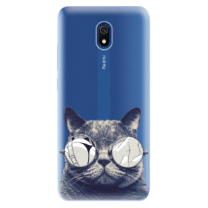 Odolné silikonové pouzdro iSaprio - Crazy Cat 01 na mobil Xiaomi Redmi 8A