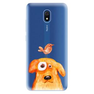 Odolné silikonové pouzdro iSaprio - Dog And Bird na mobil Xiaomi Redmi 8A