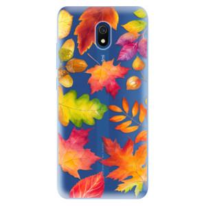 Odolné silikonové pouzdro iSaprio - Autumn Leaves 01 na mobil Xiaomi Redmi 8A