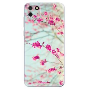 Odolné silikonové pouzdro iSaprio - Blossom 01 na mobil Huawei Y5p / Honor 9S