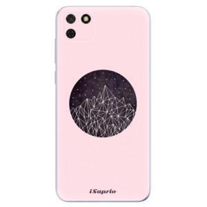 Odolné silikonové pouzdro iSaprio - Digital Mountains 10 na mobil Huawei Y5p / Honor 9S