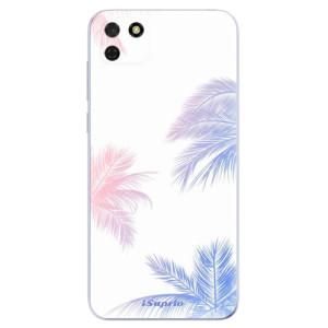 Odolné silikonové pouzdro iSaprio - Digital Palms 10 na mobil Huawei Y5p / Honor 9S