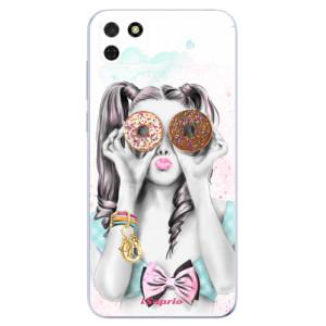 Odolné silikonové pouzdro iSaprio - Donuts 10 na mobil Huawei Y5p / Honor 9S