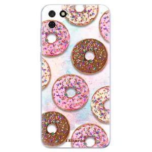 Odolné silikonové pouzdro iSaprio - Donuts 11 na mobil Huawei Y5p / Honor 9S