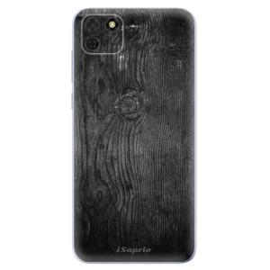 Odolné silikonové pouzdro iSaprio - Black Wood 13 na mobil Huawei Y5p / Honor 9S