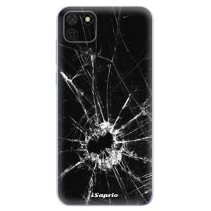 Odolné silikonové pouzdro iSaprio - Broken Glass 10 na mobil Huawei Y5p / Honor 9S