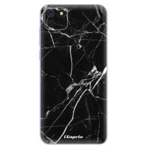 Odolné silikonové pouzdro iSaprio - Black Marble 18 na mobil Huawei Y5p / Honor 9S