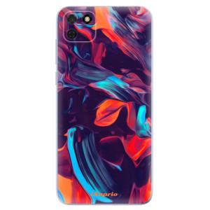Odolné silikonové pouzdro iSaprio - Color Marble 19 na mobil Huawei Y5p / Honor 9S