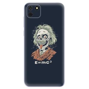 Odolné silikonové pouzdro iSaprio - Einstein 01 na mobil Huawei Y5p / Honor 9S