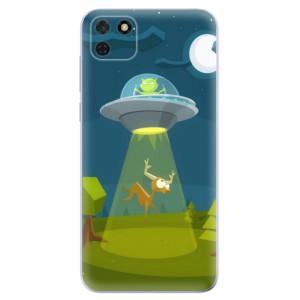 Odolné silikonové pouzdro iSaprio - Alien 01 na mobil Huawei Y5p / Honor 9S