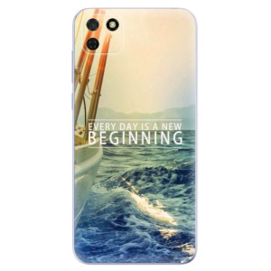Odolné silikonové pouzdro iSaprio - Beginning na mobil Huawei Y5p / Honor 9S