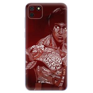 Odolné silikonové pouzdro iSaprio - Bruce Lee na mobil Huawei Y5p / Honor 9S