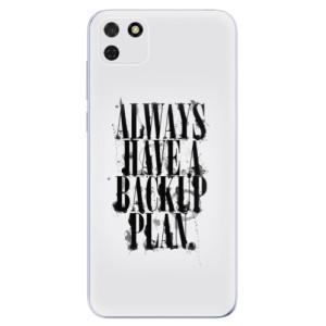 Odolné silikonové pouzdro iSaprio - Backup Plan na mobil Huawei Y5p / Honor 9S