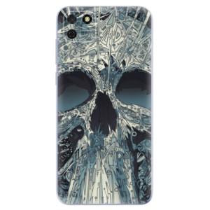 Odolné silikonové pouzdro iSaprio - Abstract Skull na mobil Huawei Y5p / Honor 9S