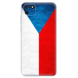 Odolné silikonové pouzdro iSaprio - Czech Flag na mobil Huawei Y5p / Honor 9S
