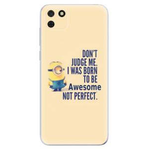 Odolné silikonové pouzdro iSaprio - Be Awesome na mobil Huawei Y5p / Honor 9S