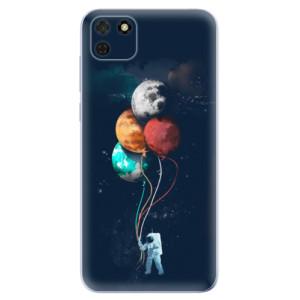 Odolné silikonové pouzdro iSaprio - Balloons 02 na mobil Huawei Y5p / Honor 9S