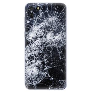 Odolné silikonové pouzdro iSaprio - Cracked na mobil Huawei Y5p / Honor 9S