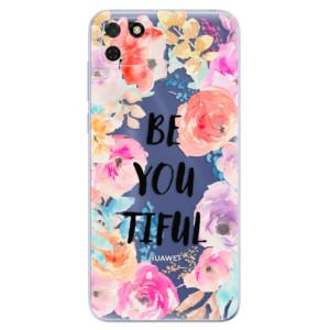 Odolné silikonové pouzdro iSaprio - BeYouTiful na mobil Huawei Y5p / Honor 9S