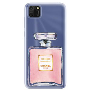 Odolné silikonové pouzdro iSaprio - Chanel Rose na mobil Huawei Y5p / Honor 9S
