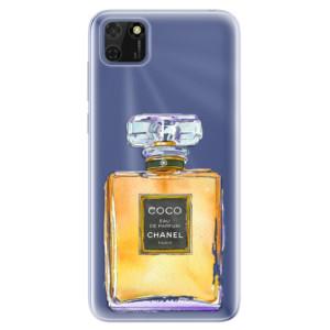 Odolné silikonové pouzdro iSaprio - Chanel Gold na mobil Huawei Y5p / Honor 9S