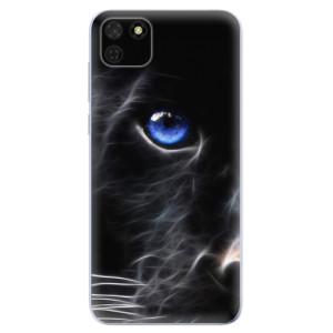 Odolné silikonové pouzdro iSaprio - Black Puma na mobil Huawei Y5p / Honor 9S
