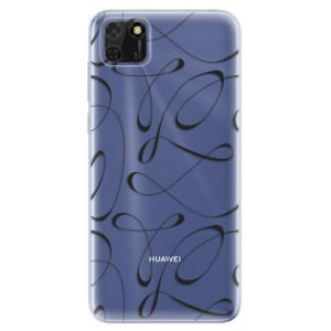 Odolné silikonové pouzdro iSaprio - Fancy - black na mobil Huawei Y5p / Honor 9S
