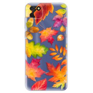 Odolné silikonové pouzdro iSaprio - Autumn Leaves 01 na mobil Huawei Y5p / Honor 9S