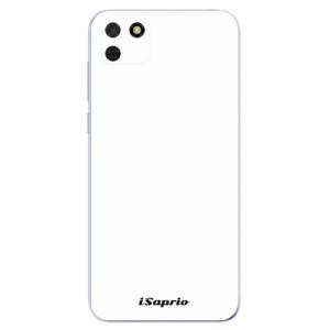 Odolné silikonové pouzdro iSaprio - 4Pure - bílé na mobil Huawei Y5p / Honor 9S