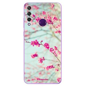 Odolné silikonové pouzdro iSaprio - Blossom 01 na mobil Huawei Y6p
