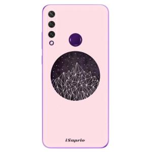 Odolné silikonové pouzdro iSaprio - Digital Mountains 10 na mobil Huawei Y6p