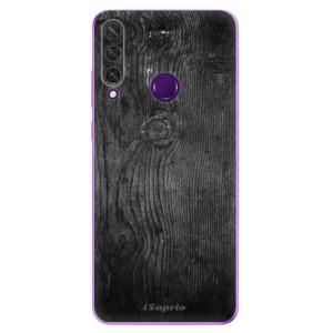 Odolné silikonové pouzdro iSaprio - Black Wood 13 na mobil Huawei Y6p