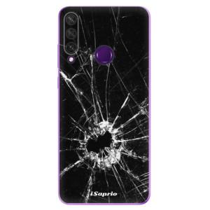 Odolné silikonové pouzdro iSaprio - Broken Glass 10 na mobil Huawei Y6p