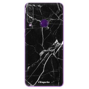 Odolné silikonové pouzdro iSaprio - Black Marble 18 na mobil Huawei Y6p