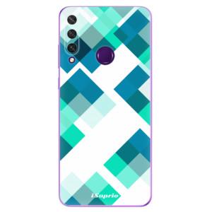 Odolné silikonové pouzdro iSaprio - Abstract Squares 11 na mobil Huawei Y6p
